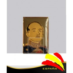 Pin Metálico Rectangular Francisco Franco