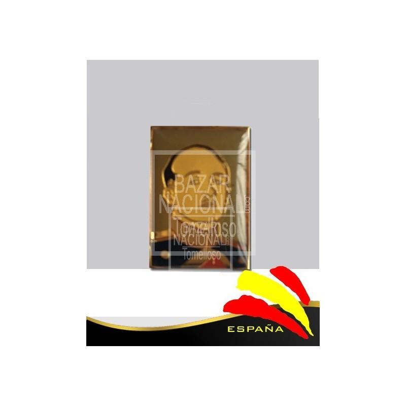 Pin Metálico Rectangular Francisco Franco