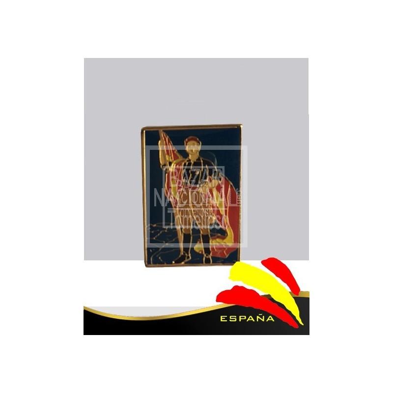 Pin Metálico Francisco Franco en Pié