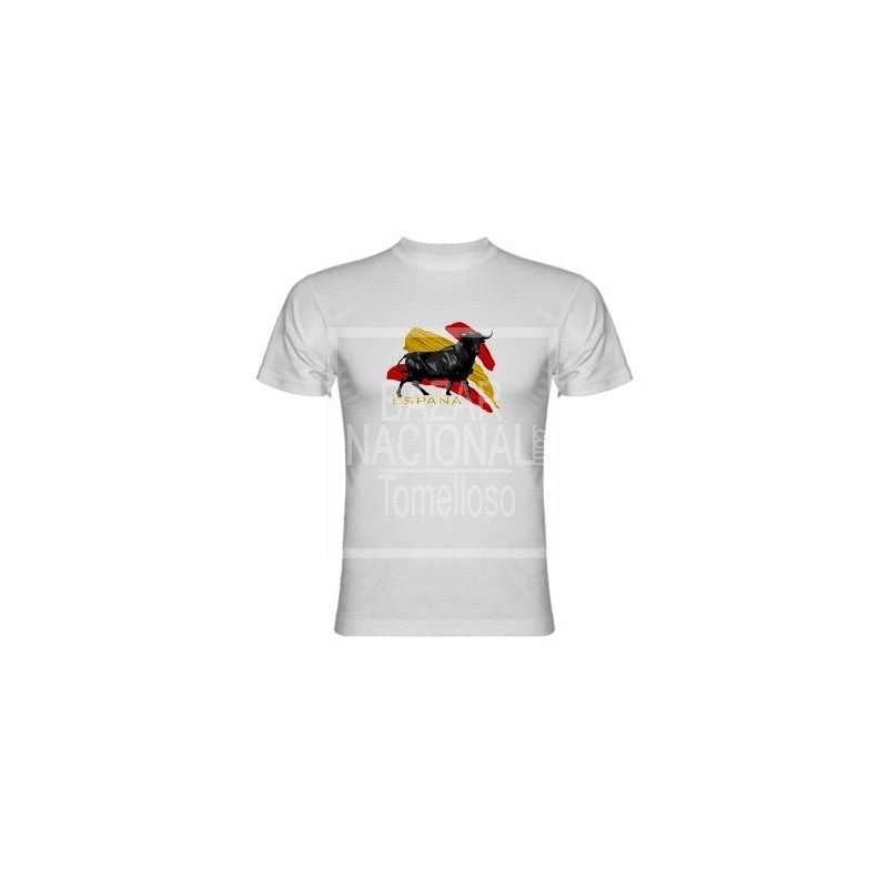 Camiseta Toro Bandera España