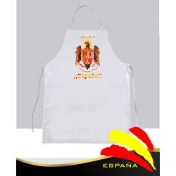 Delantal Blanco Águila de San Juan