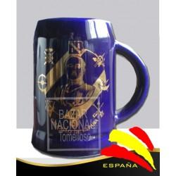 Jarra Cobalto Francisco Franco
