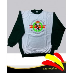 Sudadera Sublimación Verde Guardia Civil