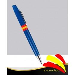 Bolígrafo Azul Bandera de España