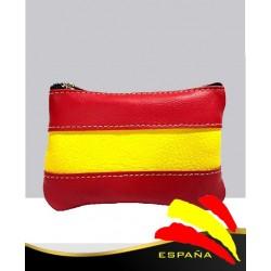 Monedero Bandera España