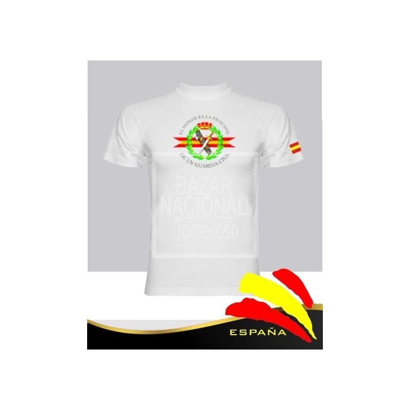 Camiseta blanca Guardia Civil Central