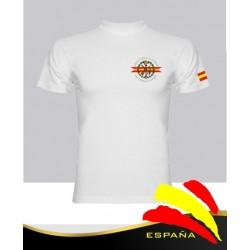 Camiseta Blanca Legión Española en Bolsillo