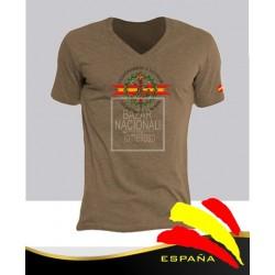 Camiseta Color Tabaco Legión Española Central