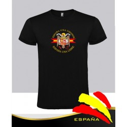 Camiseta Negra Águila Central