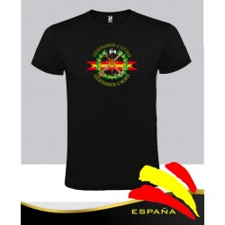 Camiseta Negra Legión Central