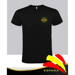 Camiseta Negra Guardia Civil Bolsillo