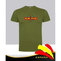 Camiseta verde Guardia Civil Central