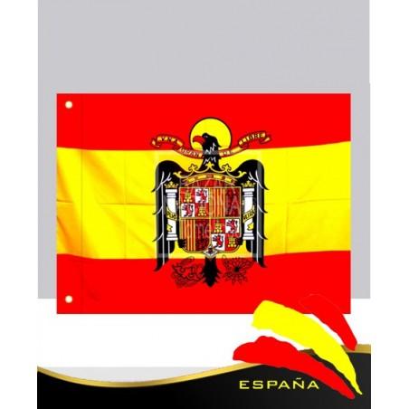 Bandera Águila de San Juan 2.10 x 1.40 mtrs. 117 grs de espesor para exterior.