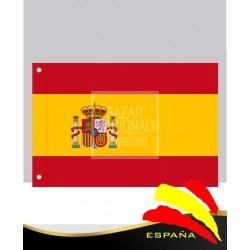 Bandera España Emblema Constitución 0.75 x 0.50 mtrs.