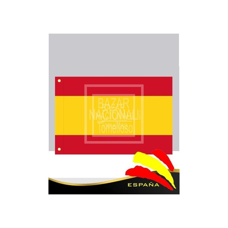 Bandera España Anónima Poliester 2.10 x 1.40 mtrs.