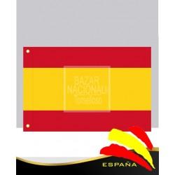 Bandera España Anónima Poliester 0.75 x 0.50 mtrs.