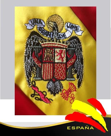 Bandera Bordada águila De San Juan 1 50 X 100 Bazar Nacional