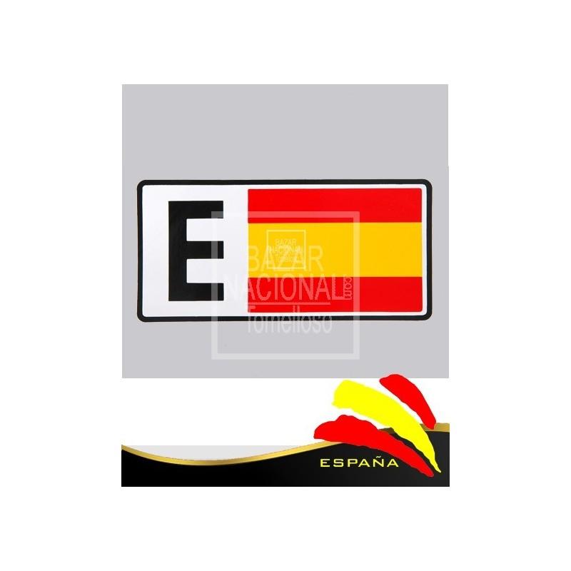 """Adhesivos Bandera """"E"""""""