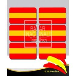 Adhesivo Resina Bandera Anónima