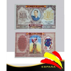 Billete Mil Pesetas Jose Antonio