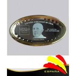 Bandeja Ovalada Francisco Franco