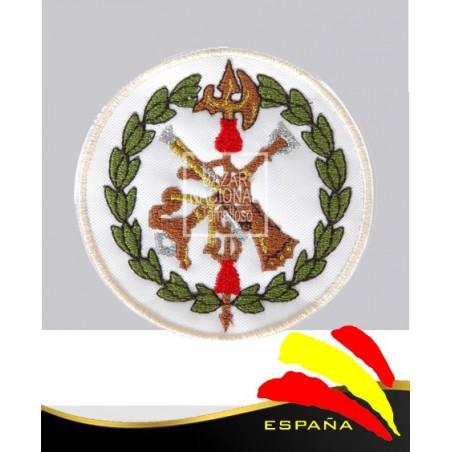 Parche Bordado Blanco Legión Española