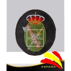 Parche Bordado Negro Guardia Civil