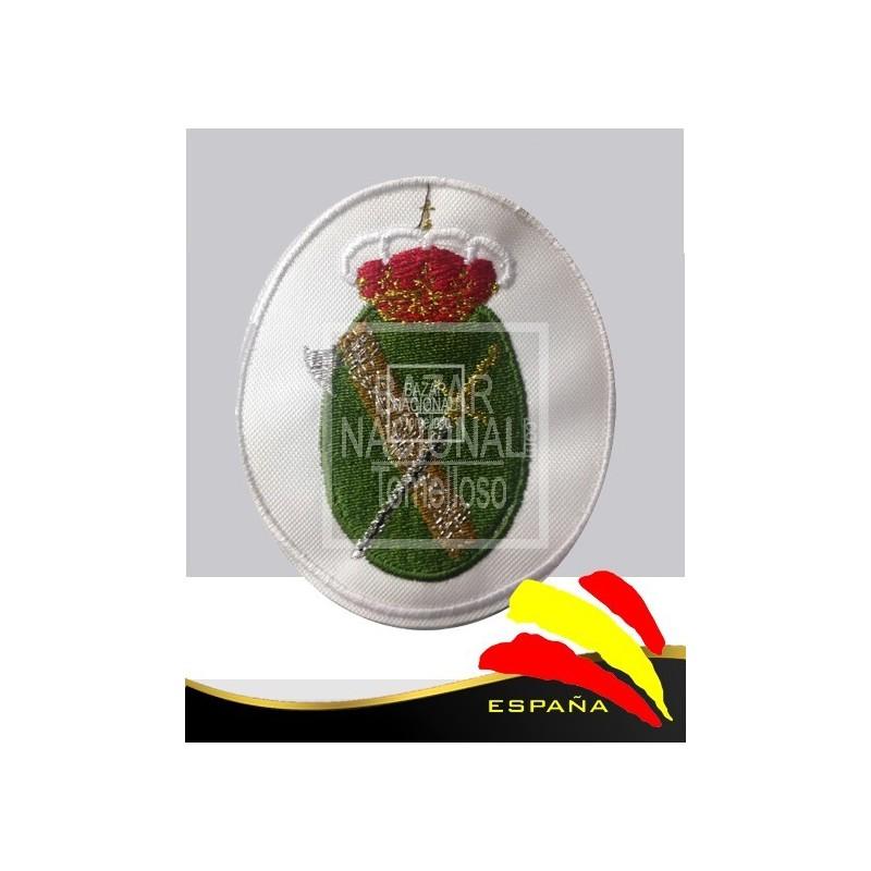 Parche Bordado Blanco Guardia Civil