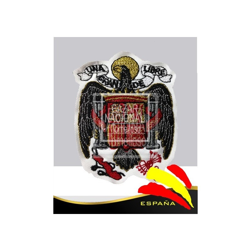 Parche Bordado Águila de San Juan Blanco