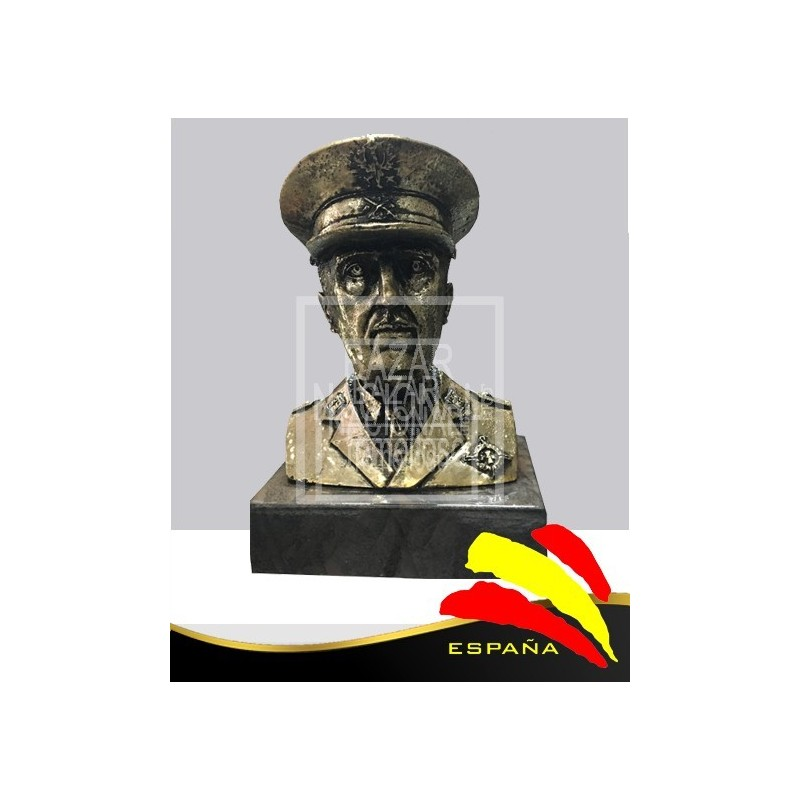 Busto Francisco Franco 21 cm.