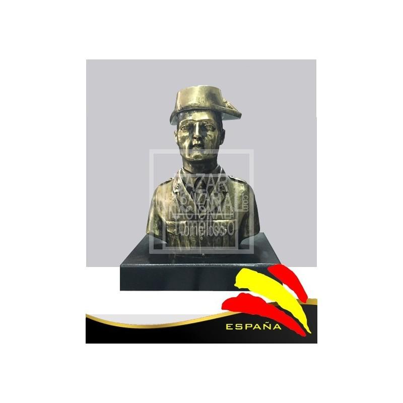 Busto Guardia Civil Tricornio 23 cm.