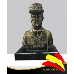 Busto Guardia Civil con Gorra 23 cm.