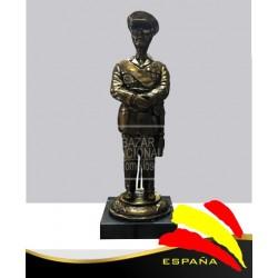 Figura de Francisco Franco Bronce 40 cm.