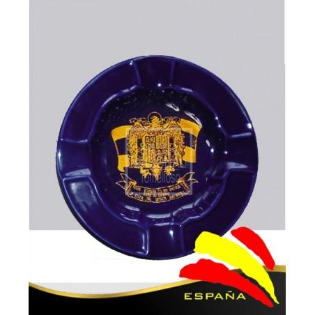 Cenicero Azul Cobalto Águila de San Juan