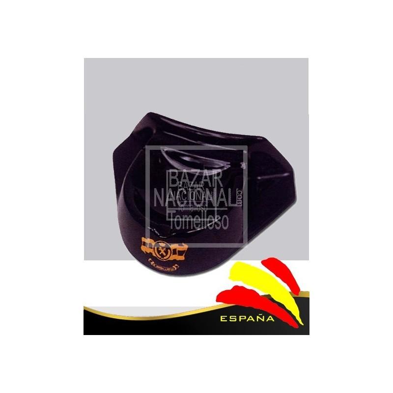 Cenicero negro Tricornio