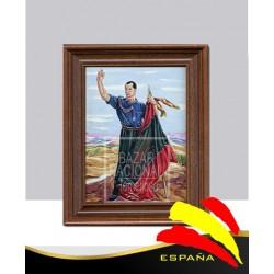 Cerámica Enmarcada José Antonio Primo de Rivera