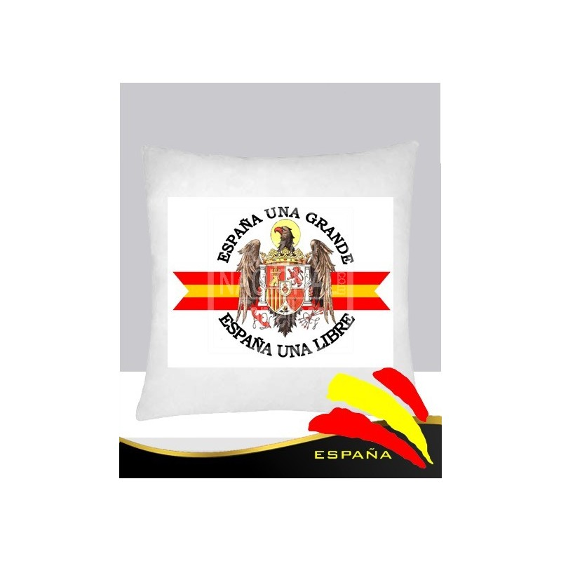 Cojín Blanco Águila Imperial