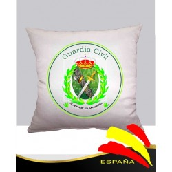 Cojín Blanco Guardia Civil de España