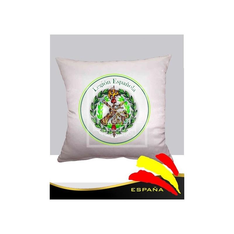 Cojín Blanco Legión Española