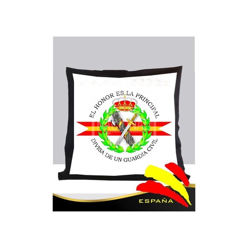 Cojín Negro Guardia Civil