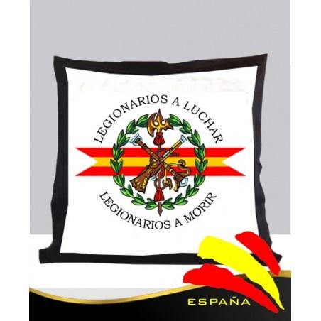 Cojín Negro Legión Española