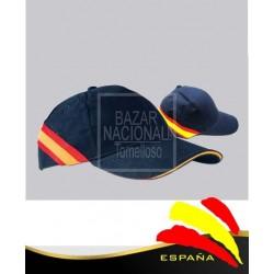 Gorra Azul Marino Bandera Posterior