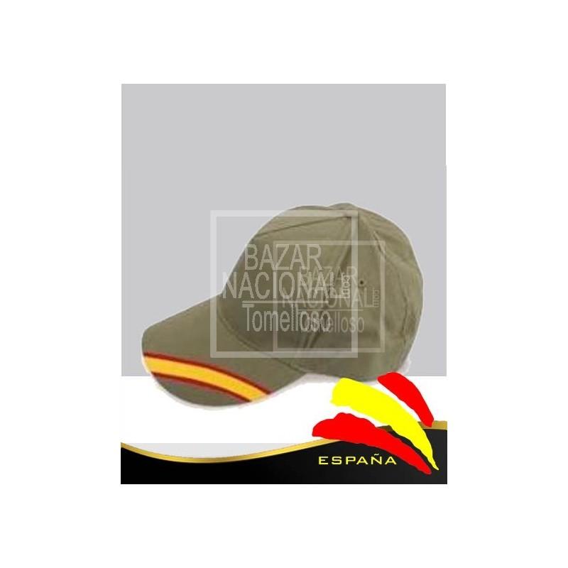 Gorra Verde Bandera España