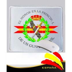 Alfombrilla Ratón Blanca Guardia Civil