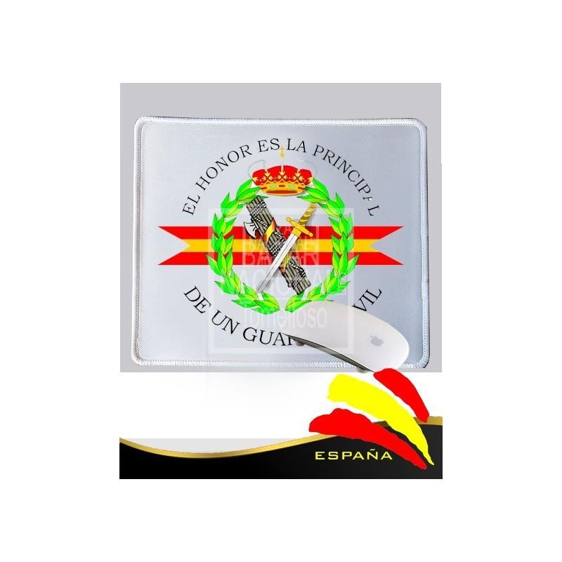 Alfombrilla Ratón Blanca Guardia Civil