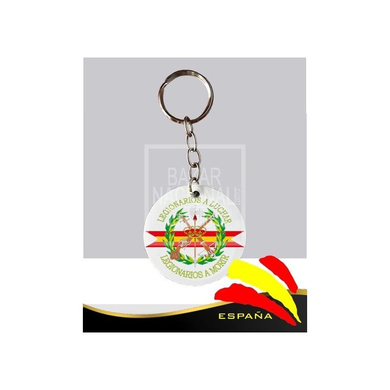 Llavero redondo sublimación Legión Española