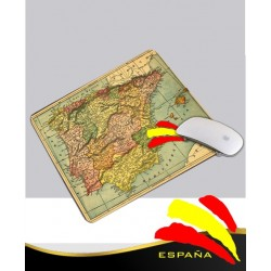 Alfombrilla Ratón Blanca Mapa España