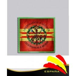 Cerámica Legión-Bandera 15x15 cm.