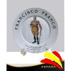 Plato Francisco Franco en Pie