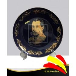 Plato José Antonio Cobalto y Oro